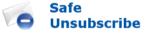 Safe unsubscribe Newsletter
