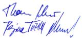 Ultralighit AG Unterschriften