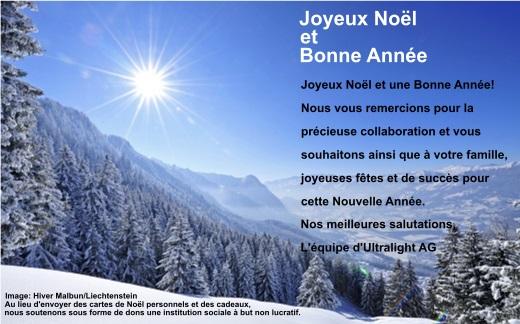 Ultralight AG Joyeux Noël