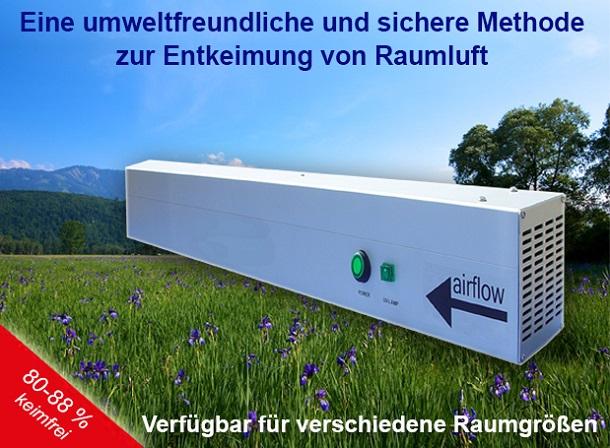 Ultralight AG Entkeimung mit UV-Licht