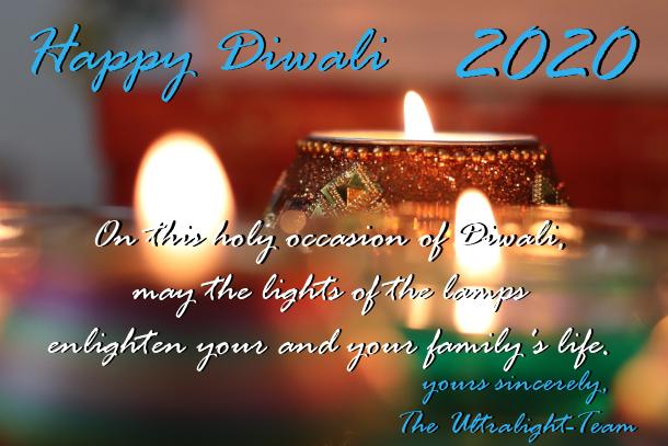 Ultralight AG Happy Diwali wishes